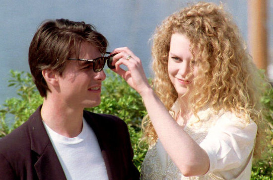 Tom Cruise and Nicole Kidman in 1992