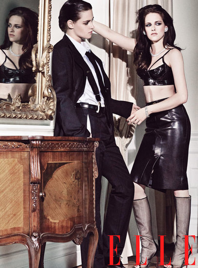 Kristen Stewart Talks Rob and Strikes a Hot Pose in Elle