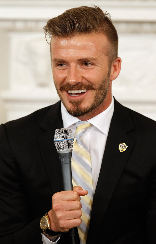 David Beckham and the LA Galaxy Get Honored at the White House