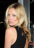 Kate Moss struck a pose at the Marie Curie Cancer Care Fundraiser in London.