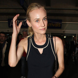 Diane Kruger Arrives in Cannes in Sexy Jumpsuit Pictures