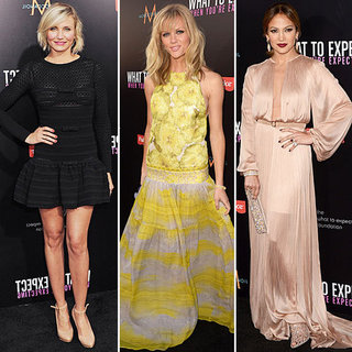 Cameron Diaz, Brooklyn Decke, Jennifer Lopez & More Step Out in Style for the What To Expect Premiere Red Carpet: Snoop It!