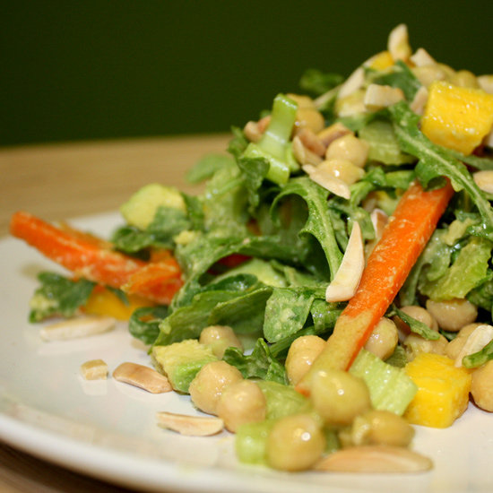 Avocado Wasabi Chickpea Salad