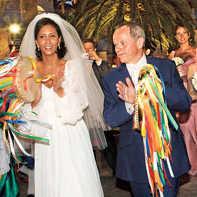 Wolfgang Puck and Gelila Assefa's Musical Procession