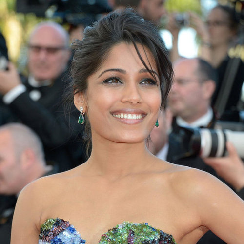 Freida Pinto at the Moonrise Kingdom Screening