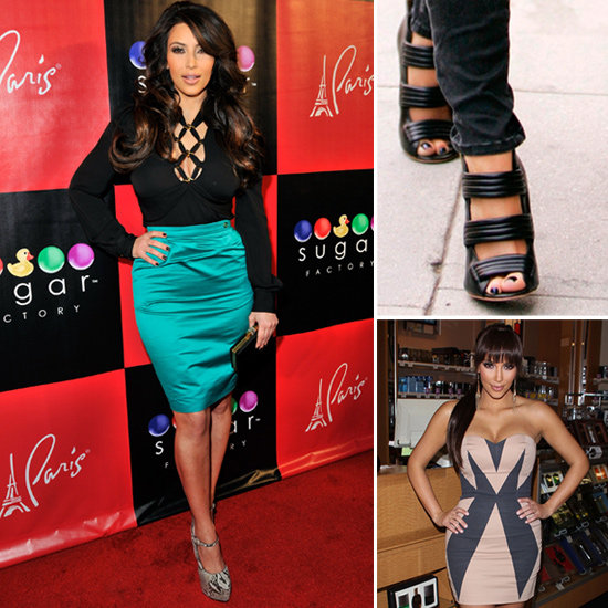 Shop Kim Kardashian's Closet For a Cause: L.A.M.B. Shoes, Gucci Skirt, Peter Pilotto Dress, and More