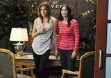Christa Miller and Courteney Cox on Cougar Town. Photo copyright 2012 ABC, Inc.