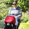 Jennifer Garner With Samuel and Seraphina Birthday Party