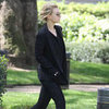 Carey Mulligan Wearing All Black Pictures in London