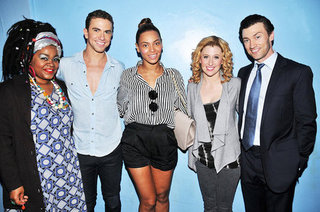Beyonce Knowles Backstage at Broadway Ghost Pictures