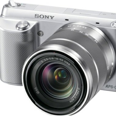 New Sony Alpha NEX-F3 Cameras