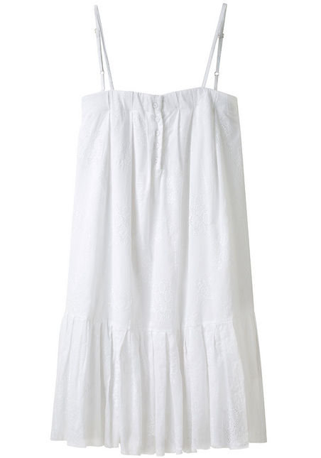 "When we think ""eyelet dress,"" this cutie is what we see — short, sweet, and definitively Spring.  Girl by Band of Outsiders Embroidered Dress ($445)"