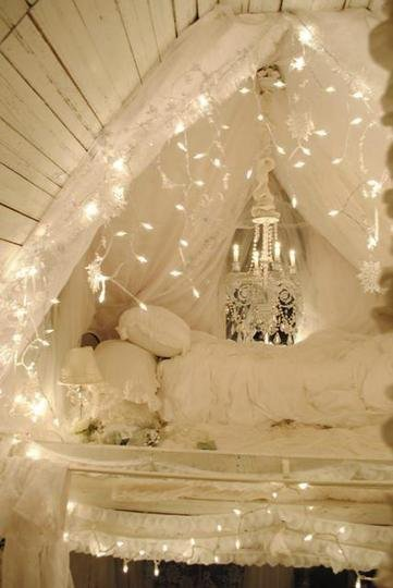 Whimsical White Lights