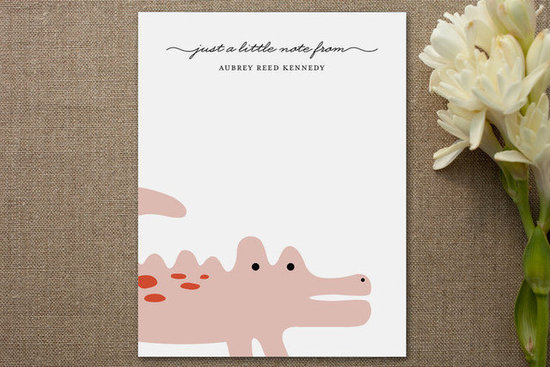 Minted Little Alligator Personalized Stationery (15/$35)