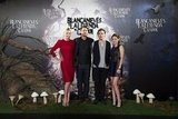 Charlize Theron, Rupert Sanders, Sam Claflin, and Kristen Stewart linked up at the Snow White and the Huntsman photocall in Madrid.