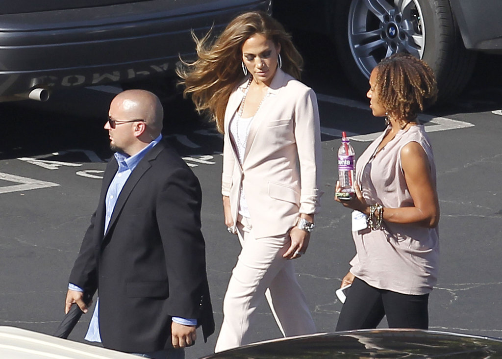 Jennifer Lopez walked to American Idol.