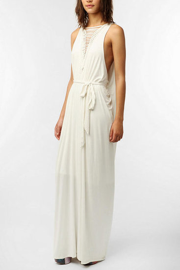Every girl needs a white Summer dress, and this longer, edgier braid-infused rendition is quirky enough to stand out against a sea of monochromatic palettes. Cooper Street Braided Jersey Maxi Dress ($179)