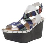 Be comfortably cool all season long with this walkable pair of wedges that also lend a totally cool feeling pattern.  Joe's Jeans Trixie Wedge Sandal ($99)