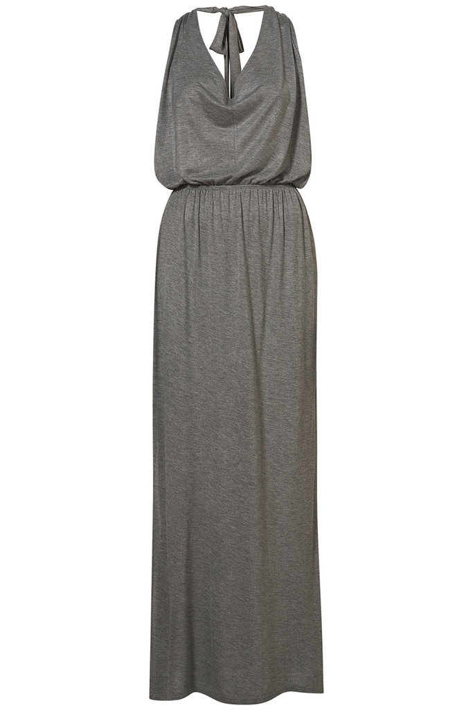 Wear this over your swimsuit or just add your comfiest pair of flat sandals — this tie-neck maxi is relaxed and vacation-ready. Topshop Tie-Neck Maxi Dress ($56)