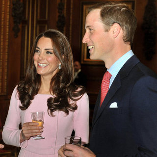 Kate Middleton, Prince William And Prince Harry Mingle At The Queen's Special Luncheon