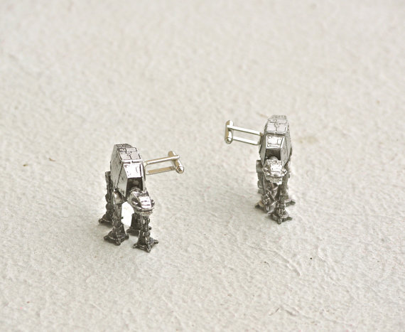 AT-AT cuff links ($39)
