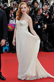 Jessica Chastain look