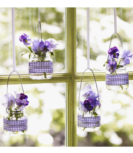 Upcycle Your Baby Food Jars Into Hanging Vases