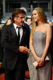 Sean Penn arrived at the screening of Reality with his new love interest, Czech model Petra Nemcova.