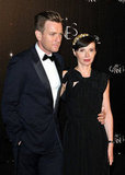 Jury member Ewan McGregor and wife Eve Mavrakis attended the opening-night dinner.