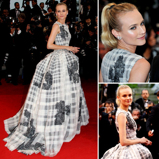 See Diane Kruger's Christian Dior Gown From All Angles at the Therese Desqueyroux Premiere at 2012 Cannes Film Festival