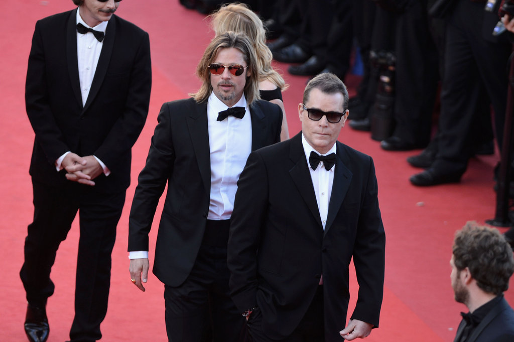 Brad Pitt looked hot at the Cannes Film Festival premiere of Killing Them Softly on May 22.
