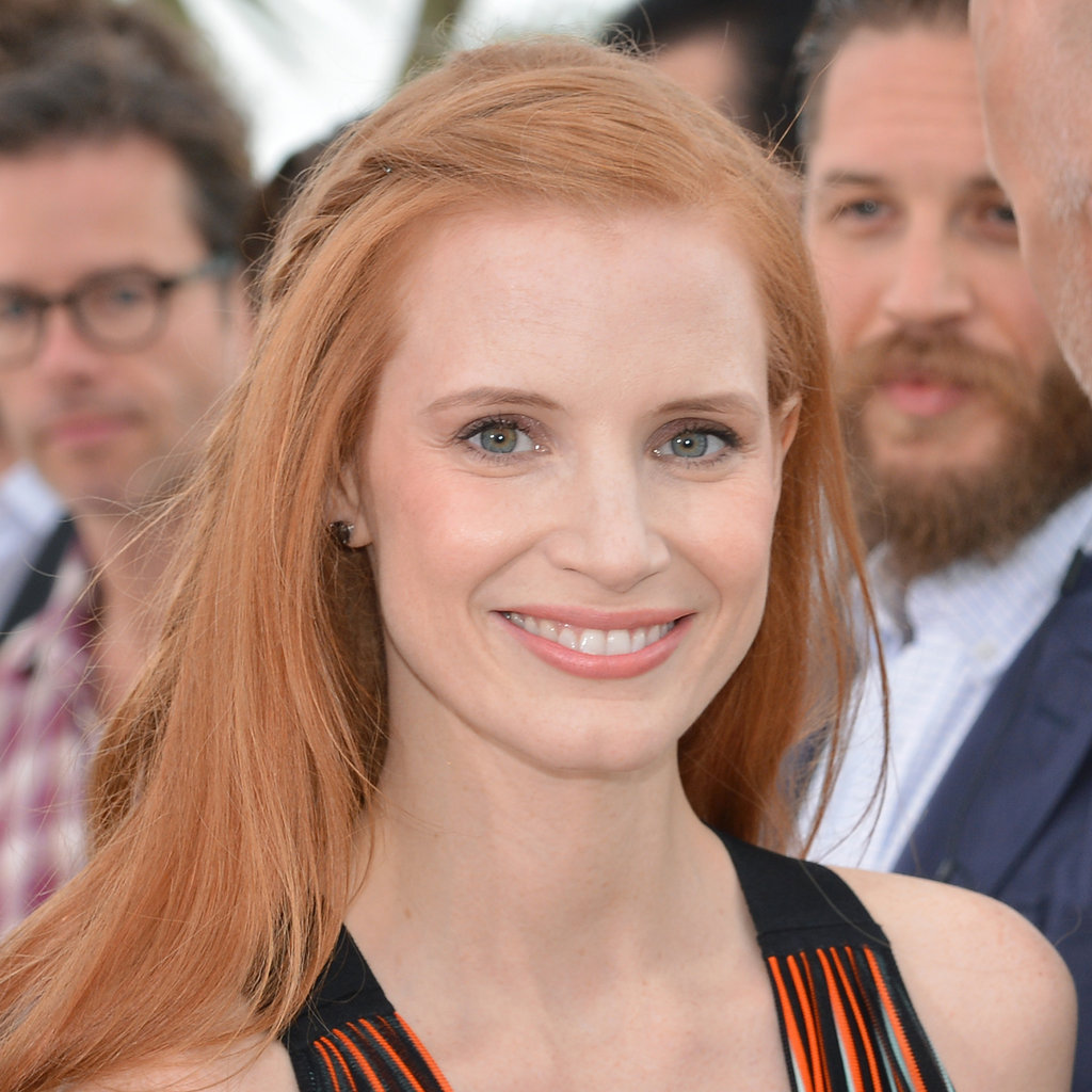 Jessica Chastain at the Lawless Photocall