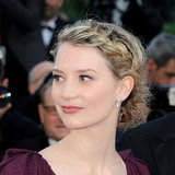 Mia Wasikowska at the Flawless Premiere