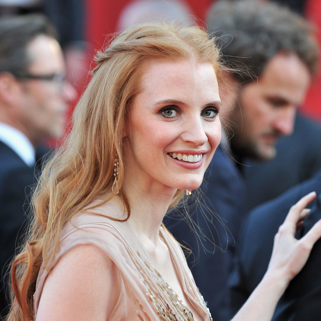 Jessica Chastain at the Lawless Premiere