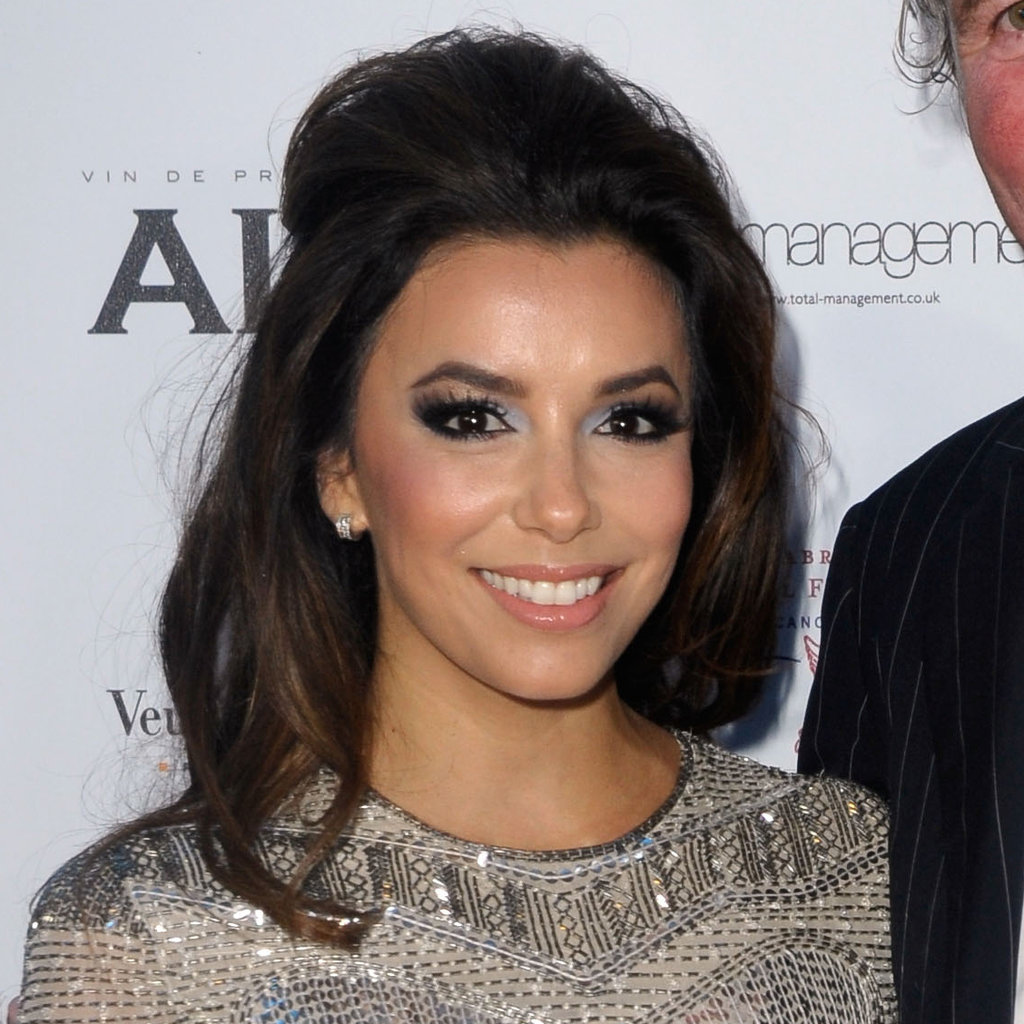 Eva Longoria at a Charity Cocktail Event