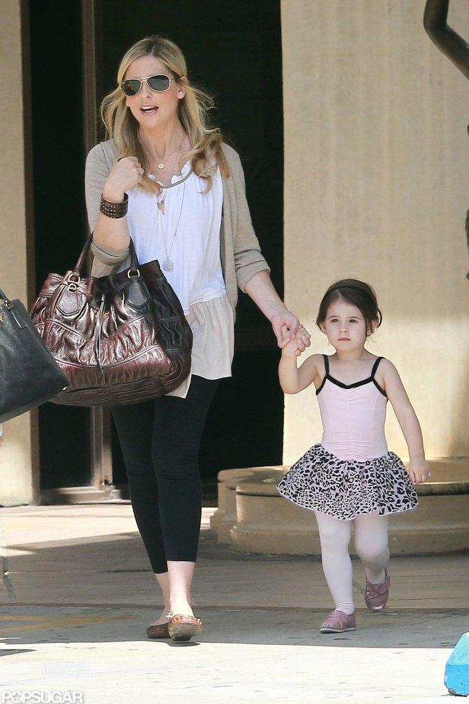 Sarah Michelle Gellar took Charlotte Prinze to ballet.