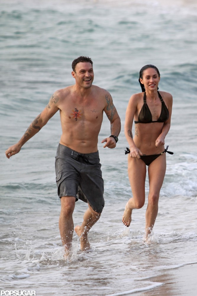 Megan Fox and Brian Austin Green spent the first few days of their June 2010 honeymoon on the beaches of Maui.