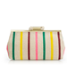 This candy-striped clutch has the most adorable retro feel. Pair it with your midi skirts and midi dresses for a sweet vibe.