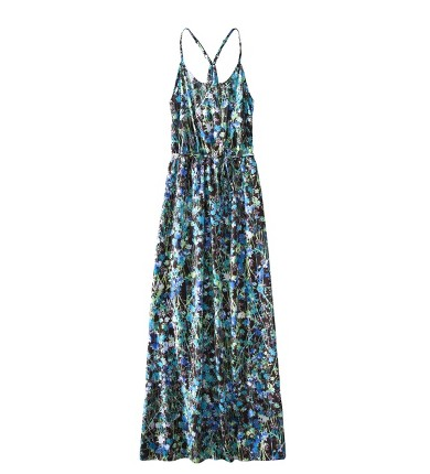The standout print gives this everyday maxi a fresh, Summer-perfect vibe.  Mossimo Women's Racer-Back Maxi Dress ($32)