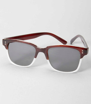This pair offers a modern riff on classic wayfarers for the style-savvy girl seeking a new twist. Fred Flare Dylan Sunglasses ($14)