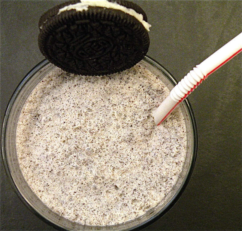 Oreo and Irish-Cream Milkshake