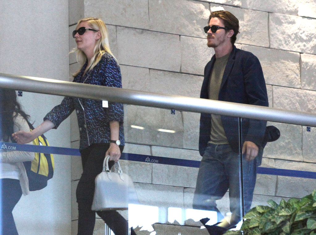 Kirsten Dunst and boyfriend Garrett Hedlund were ready to go to Cannes.