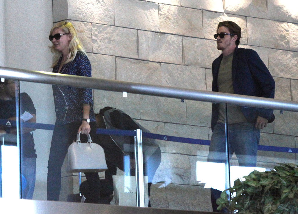 Kirsten Dunst and boyfriend Garrett Hedlund were together before France.