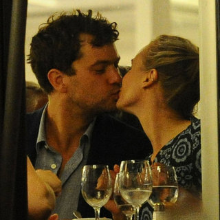 Diane Kruger and Joshua Jackson Kissing in Cannes Pictures