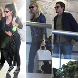 Kristen Stewart, Kirsten Dunst, and Garrett Hedlund Head Out For On the Road