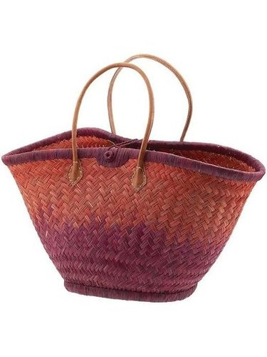 Bring the ombre trend to your accessories with this berry and coral-colored straw tote.  Mar y Sol Nantucket Ombre Tote ($85)