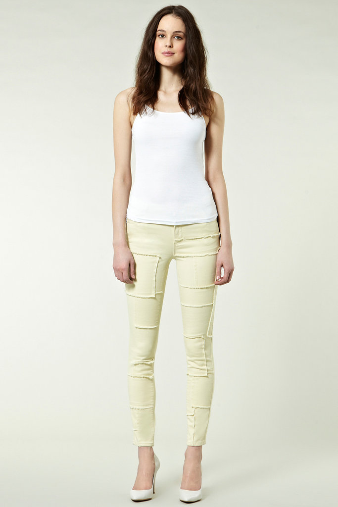 Warehouse Patchwork Skinny Jean ($80)