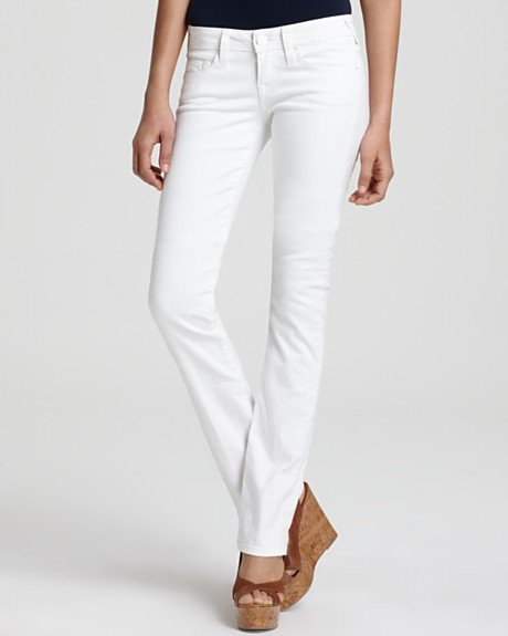 True Religion Christina Phantom Straight Leg Jeans ($198)