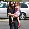Jennifer Garner at Ice Cream Store With Seraphina
