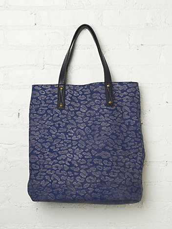 A playful bit of seasonal leopard print is an on-trend upgrade on the everyday tote.  Free People Alexa Leopard Tote ($48)
